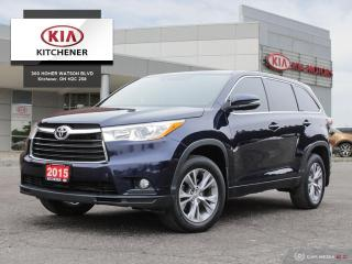 Used 2015 Toyota Highlander LE AWD for sale in Kitchener, ON