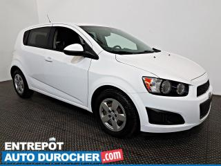 Used 2014 Chevrolet Sonic LS AUTOMATIQUE - AIR CLIMATISÉ for sale in Laval, QC