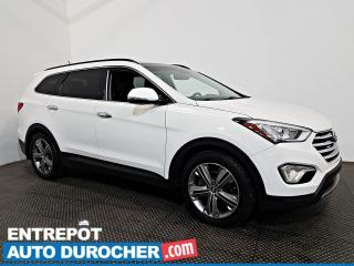 Used 2015 Hyundai Santa Fe XL Limited AWD NAV- 6 PASSAGERS - TOIT OUVRANT - CUIR for sale in Laval, QC