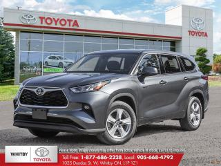 New 2021 Toyota Highlander HYBRID LE for sale in Whitby, ON