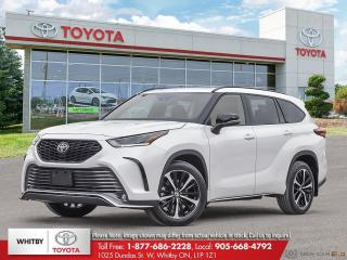 New 2021 Toyota Highlander XSE for sale in Whitby, ON