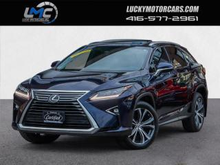 Used 2017 Lexus RX 350 LUXURY-AWD-NAV-CAMERA-SUNROOF-NO ACCIDENTS-49KMS for sale in Toronto, ON