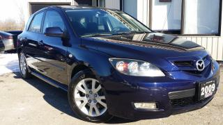 Used 2009 Mazda MAZDA3 GS 5-Door -HATCHBACK! ALLOYS! CERTIFIED! 2.3L! for sale in Kitchener, ON