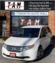 Used 2012 Honda Odyssey EX 8 Passenger Bluetooth Back-Up Camera One Owner for sale in North York, ON