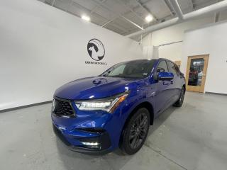Used 2019 Acura RDX SH-AWD A-Spec CLEAN CARFAX/LOW KMS/RARE A SPEC for sale in Halifax, NS
