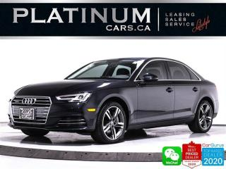 Used 2017 Audi A4 2.0T QUATTRO TECHNIK, AWD, NAV, HEATED, 360CAM for sale in Toronto, ON