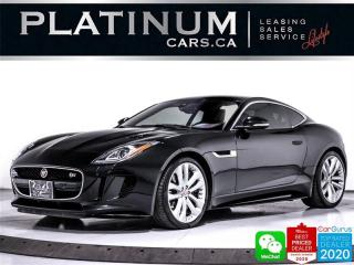 Used 2017 Jaguar F-Type S,AWD,380HP,SUPERCHARGED,NAV,HEATED SEATS, for sale in Toronto, ON