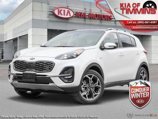 New 2021 Kia Sportage SX AWD  - Sunroof - $241 B/W for sale in Timmins, ON