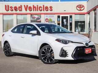 Used 2017 Toyota Corolla SE YES WE ARE OPEN SUNROOF ALLOYS CAMERA for sale in North York, ON