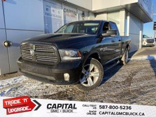 Used 2016 RAM 1500 5.7L HEMI Sport  * HEATED SEATS * ONE OWNER NO ACCIDENTS * REMOTE STARTER * for sale in Edmonton, AB