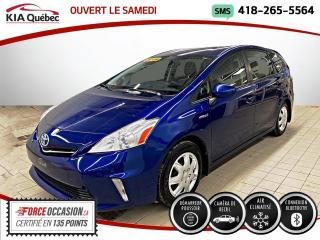 Used 2014 Toyota Prius V ** BLUETOOTH * CAMERA * CLIMATISATION AU for sale in Québec, QC