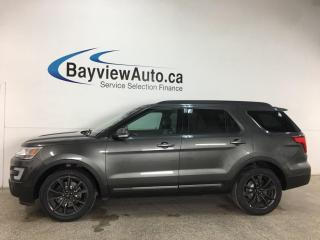 Used 2017 Ford Explorer XLT - 4WD! 1/2 LEATHER! SUNROOF! NAV! 20