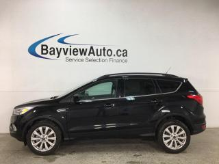Used 2019 Ford Escape SEL - 4WD! ECOBOOST! HTD LTHR! PANOROOF! 16,000KMS! for sale in Belleville, ON