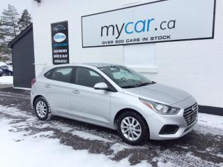 Used 2020 Hyundai Accent Preferred HEATED SEATS, BACKUP CAM, BLUETOOTH!! for sale in Kingston, ON