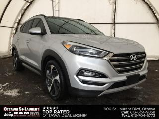 Used 2017 Hyundai Tucson Limited LEATHER SEATING, PANORAMIC SUNROOF, REMOTE STARTER for sale in Ottawa, ON