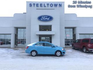 Used 2014 Chevrolet Sonic LT  - Bluetooth -  SisiurXM for sale in Selkirk, MB