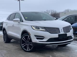 Used 2017 Lincoln MKC Reserve LEATHER HEATED SEATS, REVERSE CAMERA for sale in Midland, ON