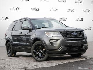 Used 2019 Ford Explorer SPORT for sale in Oakville, ON