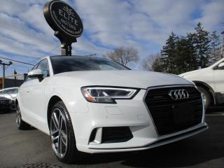 Used 2017 Audi A3 4dr Sdn quattro 2.0T Technik for sale in Burlington, ON