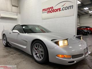 Used 2003 Chevrolet Corvette 2dr Z06 Hardtop 6spd HUD MEM CanadianCar Bluetooth for sale in St. George, ON