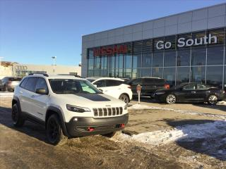 Used 2019 Jeep Cherokee TRAILHAWK, 4X4, LEATHER for sale in Edmonton, AB