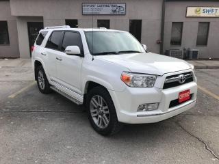 Used 2011 Toyota 4Runner SR5 V6 4WD,7 PASS.,LEATHER,SUNROOF,NO ACCIDENTS! for sale in Burlington, ON
