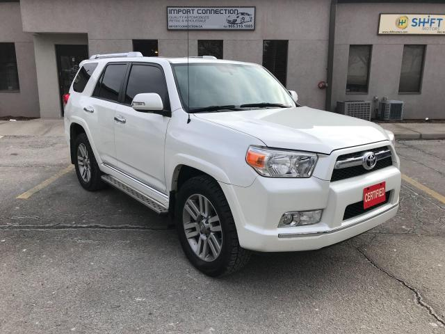 2011 Toyota 4Runner SR5 V6 4WD,7 PASS.,LEATHER,SUNROOF,NO ACCIDENTS!