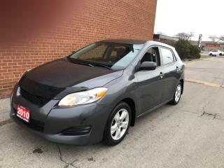 Used 2010 Toyota Matrix CARFAX NO ACCIDENTS, WINTER TIRES for sale in Oakville, ON