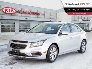 Used 2015 Chevrolet Cruze 1LT Low Mileage | Bluetooth | Rear View Camera | for sale in Winnipeg, MB