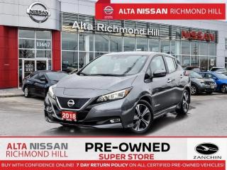 Used 2018 Nissan Leaf SV   Propilot   Navi   HTD Steering Wheel   BSW for sale in Richmond Hill, ON