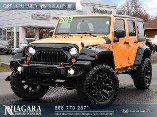 Used 2013 Jeep Wrangler Unlimited Sahara | LOTS OF ADDONS for sale in Niagara Falls, ON