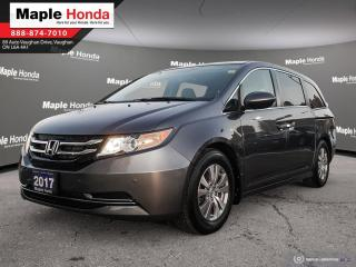 Used 2017 Honda Odyssey EX-L|Navigation|Leather Seats|Power doors| Front a for sale in Vaughan, ON