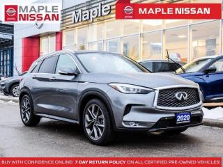 Used 2020 Infiniti QX50 Autograph AWD Leather Navi Blind Spot for sale in Maple, ON