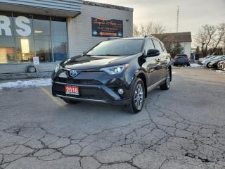 Used 2016 Toyota RAV4 Hybrid 4dr XLE for sale in Barrie, ON