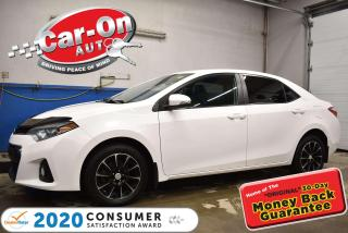 Used 2016 Toyota Corolla S | LEATHER | ALLOYS | HEATED SEATS | REAR CAMERA for sale in Ottawa, ON