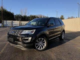 Used 2016 Ford Explorer Limited 4WD for sale in Cayuga, ON