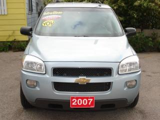 Used 2007 Chevrolet Uplander CERTIFIED-7 PASSENGER EXTENDED - DVD PACKAGE for sale in Scarborough, ON