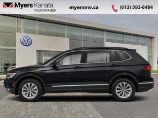 Used 2018 Volkswagen Tiguan Comfortline 4MOTION  - Sunroof for sale in Kanata, ON