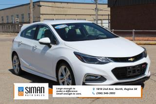 Used 2017 Chevrolet Cruze Premier Auto LEATHER SUNROOF for sale in Regina, SK