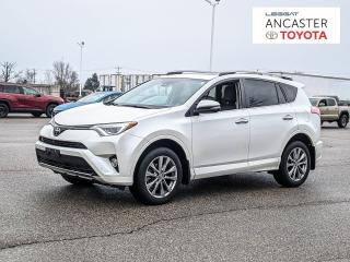 Used 2017 Toyota RAV4 Limited Platinum for sale in Ancaster, ON