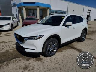 New 2021 Mazda CX-5 Signature - Head-up Display -  Navigation for sale in Steinbach, MB