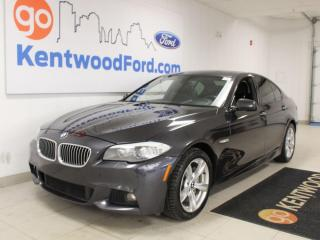 Used 2013 BMW 5 Series 535I | AWD | M Sport | Heated Leather | Nav | Sunroof | No Accidents for sale in Edmonton, AB
