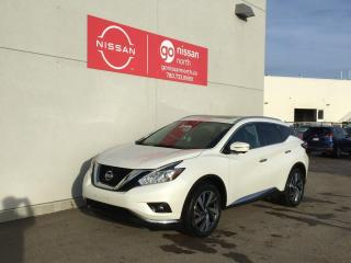 Used 2015 Nissan Murano Platinum Edition 4dr 4WD Sport Utility / Smart Key / Touch Screen / for sale in Edmonton, AB