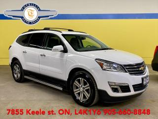 Used 2017 Chevrolet Traverse LT AWD, Navigation, Backup Cam for sale in Vaughan, ON