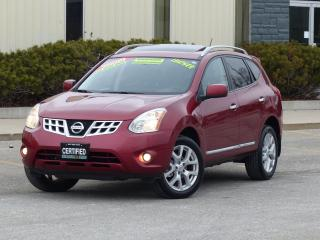 Used 2011 Nissan Rogue SL,AWD,LEATHER,NAVIGATION,BACK-CAMERA,CERTIFIED, for sale in Mississauga, ON