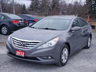 Used 2012 Hyundai Sonata GLS/SE POWER SUNROOF CERTIFIED for sale in Stouffville, ON