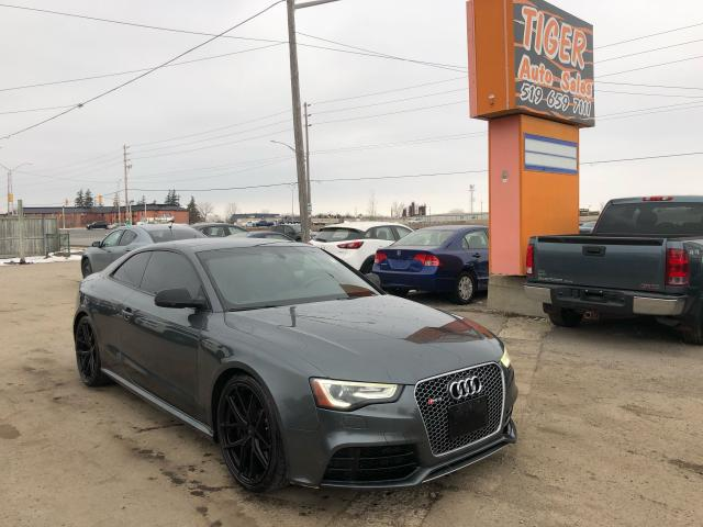 2013 Audi RS 5 V8**450HP**BLACK ON BLACK**LOADED*2 SETS OF WHEELS