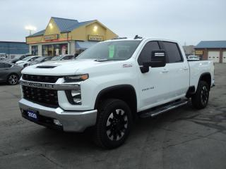 Used 2020 Chevrolet Silverado 2500 LT CrewCabZ71 6.6L Diesel 6.5ft Box Leather Heated for sale in Brantford, ON