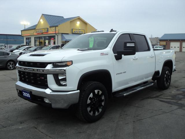 2020 Chevrolet Silverado 2500 LT CrewCabZ71 6.6L Diesel 6.5ft Box Leather Heated