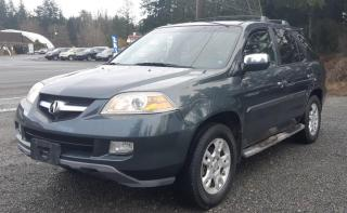Used 2006 Acura MDX w/Touring Pkg for sale in Black Creek, BC
